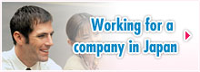 Working for company in Japanese company